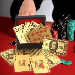 Gold Plated Playing Cards Box for Ghaziabad