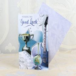 Good Luck Greeting Card for Pune