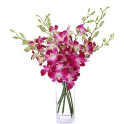 Gorgeous Orchids  Vase for Hyderabad