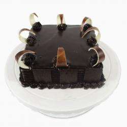 Heavenly Dark Chocolate Cake for Mathura