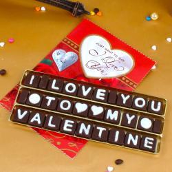 I Love You Gift Hamper For My Valentine for Chennai