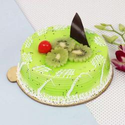 Kiwi Vanilla Cake for Raichur