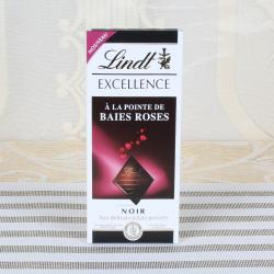 Lindt Excellence Baies Roses Bar for Bharuch