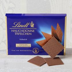Lindt Thin Vollmilch Chocolate for Lucknow