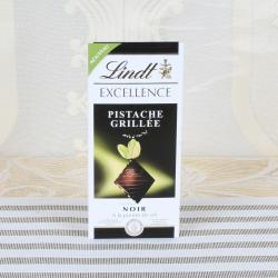 LindtExcellence Noir Pista che A la Pointe de Sel Chocolate Bar for Ghaziabad