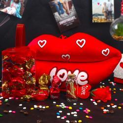 Lip Lock Choco Love Gift for Chandigarh