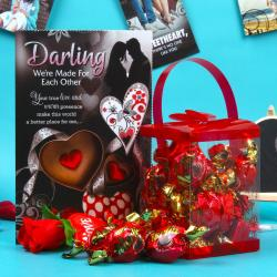 Merlin Rich Cream Toffees Love Gift Hamper for Asansol
