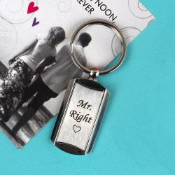 Mr Right Keychain for Bangalore