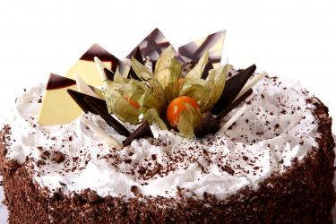 One Kg Black Forest Cake for Lucknow