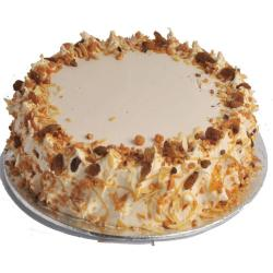 One Kg Butterscotch Cake for Chandigarh