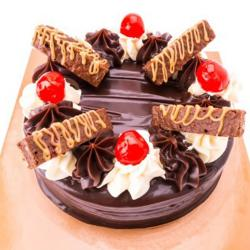 One Kg Perk Chocolate Cake for Bharuch