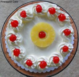 One Kg Pineapple Cake for Manipal