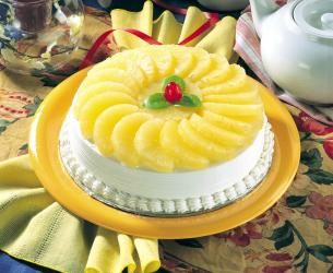 Pineapple Cake for Delhi