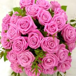 Pink Roses Bouquet for Dombivli