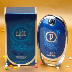 Police Pure Perfume for Him with Complimentary Love Card for Baroda