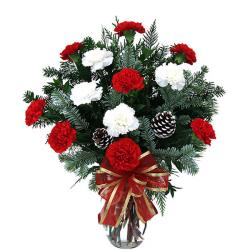Premium Carnations Vase for Cuttack