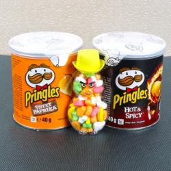 Pringles Chips and Colorful Candies for Bhopal