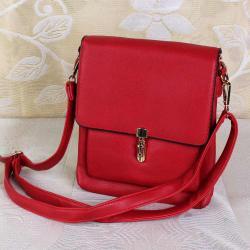 Red Lovely Sling bag for Bhopal