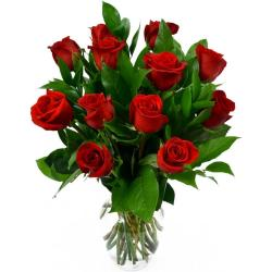 Romantic Gift Bouquet of Red Roses for Ghaziabad