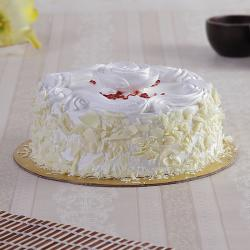 Rose Vanilla Chips Cake for Ahmedabad