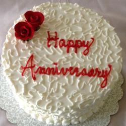 Rose White Florest Cake for Gandhinagar