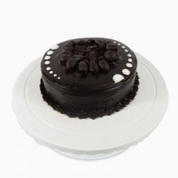 Round Dark Chocolate Cake for Thanjavur