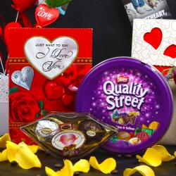 Royal and Quality Valentines Chocolate Combo for Asansol