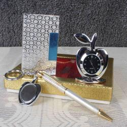 Silver Plated Gift Items Hamper for Cuttack