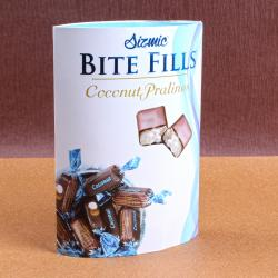 Sizmic Bite Fills Coconut Pralines for Mathura