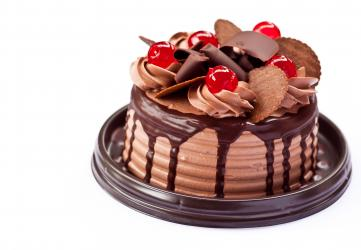 Small Chocolate Cake for Dewas