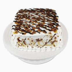Square Butterscotch Cake for Mathura