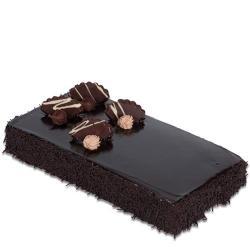 Square Dutch Truffle Chocolate Cake for Delhi