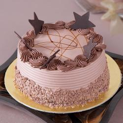 Star Chocolate Cake for Hyderabad