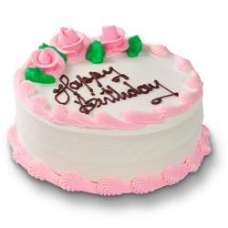 Strawberry Birthday Cake for Gurgaon