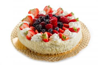 Strawberry Cheese Cake for Imphal