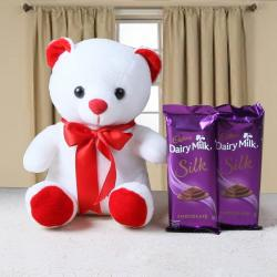 Teddy Bear and Chocolate Bars for Indore