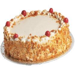 Tempting Butterscotch Caramel Cake for Baroda