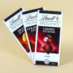 Three Bars of Lindt Chocolate for Kapurthala