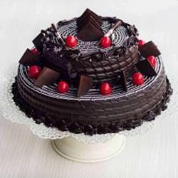 Two Tier Truffle Cake for Chennai