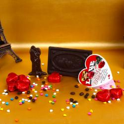 Valentine Special Home Made Chocolates with Love Card for Pune