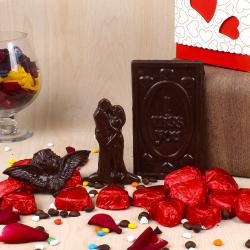 Valentines Day Special Home Made Chocolate Box for Raipur