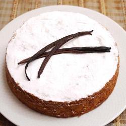 Vanilla Cream Cake for Pune
