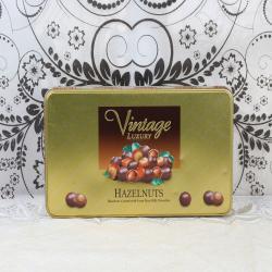 Vintage Luxury Hazelnuts Chocolate Box for Chennai