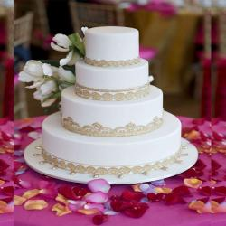 Wedding Vanilla Cake for Moga