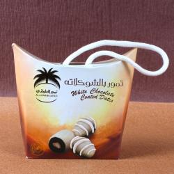 White Chocolate Coated Dates for Chennai