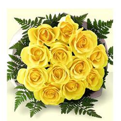 Yellow Roses Bouquet for Kolkata